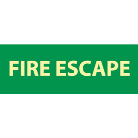 Glow Sign Vinyl - Fire Escape