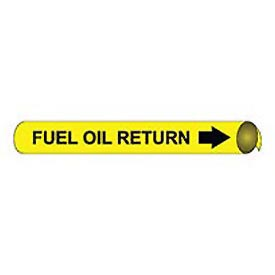 Precoiled and Strap-on Pipe Marker - Fuel Oil Return