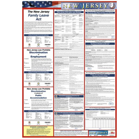 Labor Law Poster - New Jersey