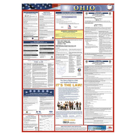 Labor Law Poster - Ohio