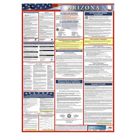Labor Law Poster - Arizona - Spanish