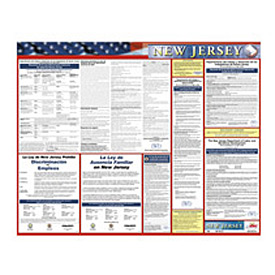 Labor Law Poster - New Jersey - Spanish