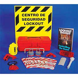 Electrical Lockout Center with Contents - Bilingual