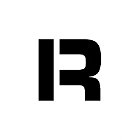 "Individual Character Stencil 12"" - Letter R"