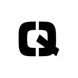 "Individual Character Stencil 24"" - Letter Q"