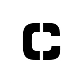 "Individual Character Stencil 36"" - Letter C"