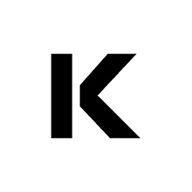 """Individual Character Stencil 36"""" - Letter K"""