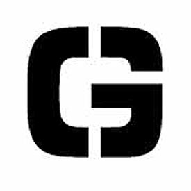 """Individual Character Stencil 4"""" - Letter G"""