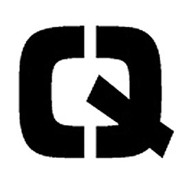 "Individual Character Stencil 4"" - Letter Q"
