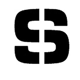 """Individual Character Stencil 4"""" - Letter S"""