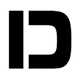 """Individual Character Stencil 8"""" - Letter D"""