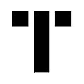 """Individual Character Stencil 8"""" - Letter T"""