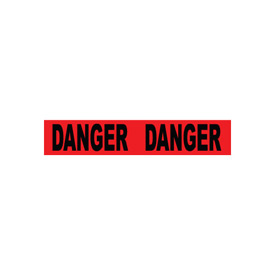 Printed Barricade Tape - Danger Danger