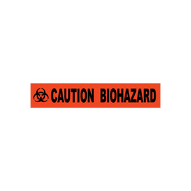 Printed Barricade Tape - Caution Biohazard