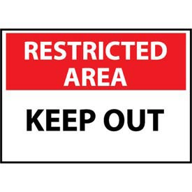 Restricted Area Plastic - Keep Out
