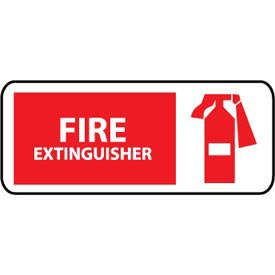 Pictorial OSHA Sign - Vinyl - Fire Extinguisher