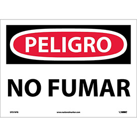 Spanish Vinyl Sign - Peligro No Fumar