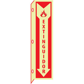 3D Glow Sign Plastic - 3D Extinguidor (Spanish)