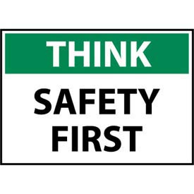 Think Osha 7x10 Plastic - Safety First
