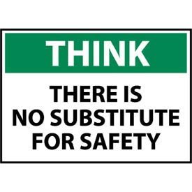 Think Osha 10x14 Aluminum - There Is No Substitute for Safety