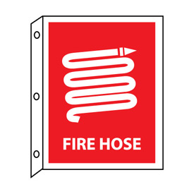 Fire Flange Sign - Fire Hose