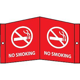 Facility Visi Sign - No Smoking