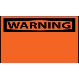 Machine Labels - Warning Blank with Header Only