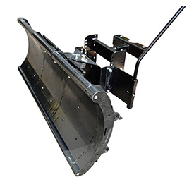 "Nordic Auto Plow Lightweight Rounded Edge 49"" Snow Plow: Lifted Frame Club Car Golf Carts NAP-GCL3 by"