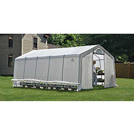 ShelterLogic, 70590, GrowIt Heavy Duty Walk-Thru Greenhouse Peak-Style 12 ft. x 20 ft. x 8... by