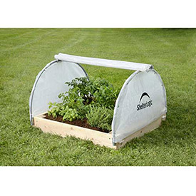 ShelterLogic, 70617, GrowIt Backyard Raised Bed Greenhouse- Round Style 4 ft.x4 ft.x1-7/8... by