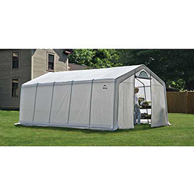 ShelterLogic, 70684, GrowIt Greenhouse-In-A-Box Pro Peak-Style 12 ft. x 20 ft. x 8 ft. by