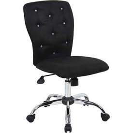 Boss Office Chair - Microfiber - Mid Back - Black