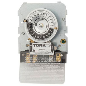 NSI TORK® 1101BM-IAP 24 Hour Time Switch, 40A, 120V, SPST Mechanism w/IAP Adapter Plate Attached