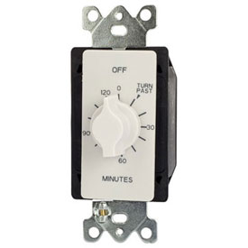 NSI A502HW 2 Hr. Twist Timer White