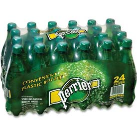 Perrier Mineral Water, 16.91 Oz, 24/Carton