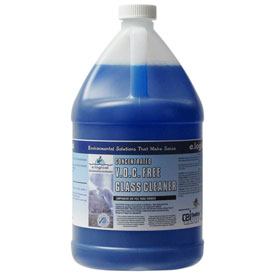 Nyco ez2Mix Concentrated Glass Cleaner, Neutral Scent, Gallon Bottle 2/Case EZ256-G2PDU by