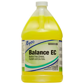 Nyco Balance EC Lemon Scented Neutral pH Floor Cleaner, Gallon Bottle 4/Case NL158-G4 by