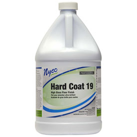 Nyco Hard Coat Floor Sealer and Finish, Neutral Scent, Gallon Bottle 4/Case NL167-G4 by