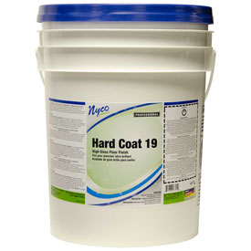 Nyco Hard Coat Floor Sealer and Finish, Neutral Scent, 5 Gallon Pail 1/Case NL167-P5 by