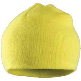 100% Acrylic Beanie with Thinsulate™ Insulation, Yellow, 12 Pack - Pkg Qty 12
