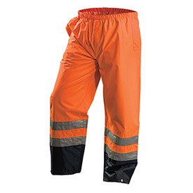 Premium Breathable Pants, Waterproof, Hi-Vis Orange, L