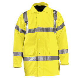 Premium 5-In-1 Parka, Hi-Vis Yellow, XL by