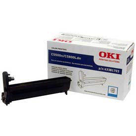 OKI® Imaging Drum 43381703, Cyan