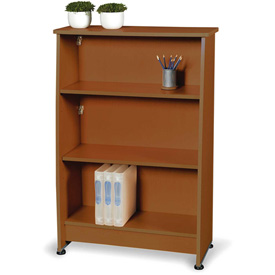 OFM Bookcase with 3 Shelves - Cherry - Milano Series