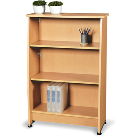 OFM Bookcase with 3 Shelves - Maple - Milano Series