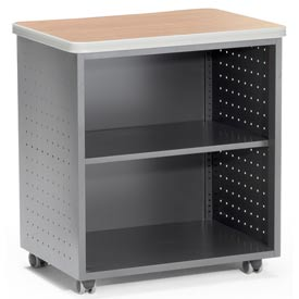 "OFM Utility/Fax/Copy Table - 28""W x 20""D - Maple - Mesa Series"
