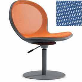 Net Swivel Chair With Gas Lift - Marine - Pkg Qty 2