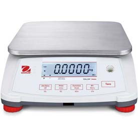 "Ohaus Valor 7000 Compact Food Digital Scale 0.0001lb 11-13/16"" x 8-7/8"" Platform by"
