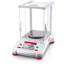 "Ohaus AX223/E Adventurer Precision Balance With Manual Calibration 220g x 0.001g 5-1/8"" Diameter by"