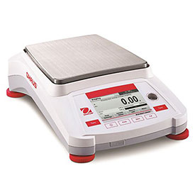 "Ohaus AX4202/E Adventurer Precision Balance With Manual Calibration 4200g x 0.01g 7-11/16"" x 6-7/8"" by"